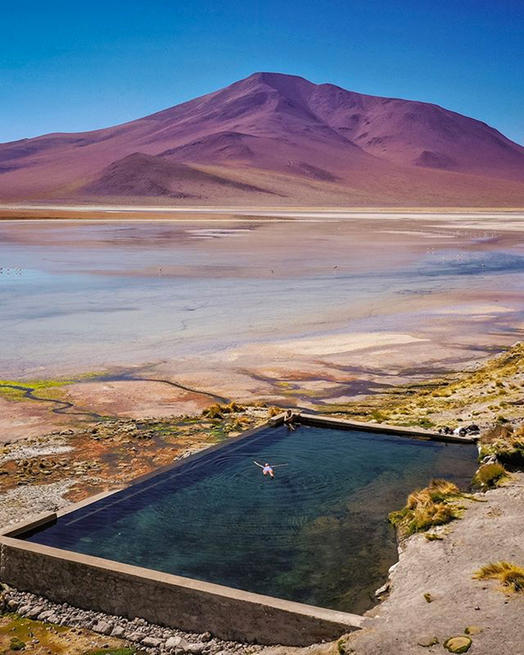 Photography: Unknown | Natural Pools, Bolivia