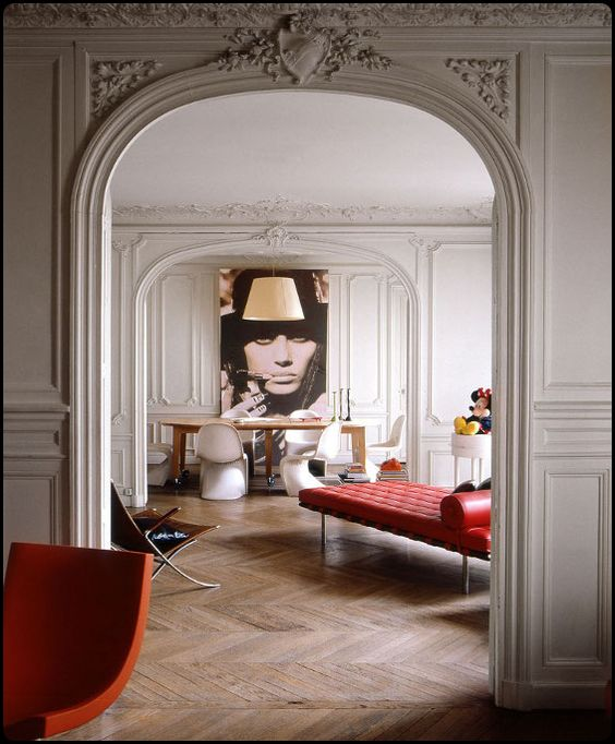 Photography: Unknown | Parisian Apartment
