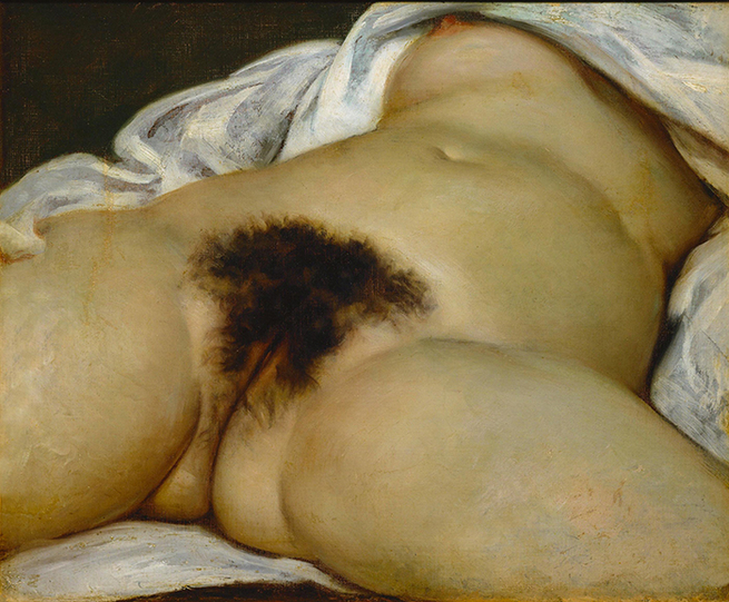 Artist: Gustave Courbet | The Origin of the World, 1866