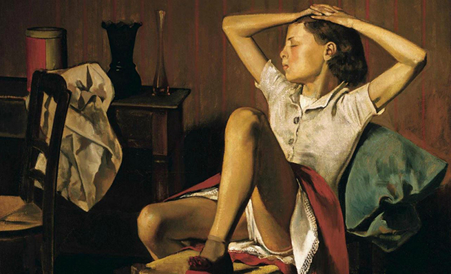 Artist: Balthus | Thérese Dreaming, 1938