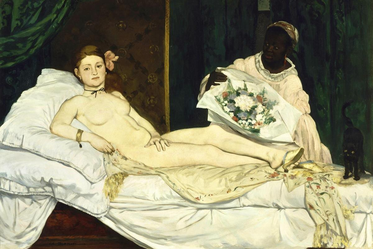 Artist: Edouard Manet | Olympai