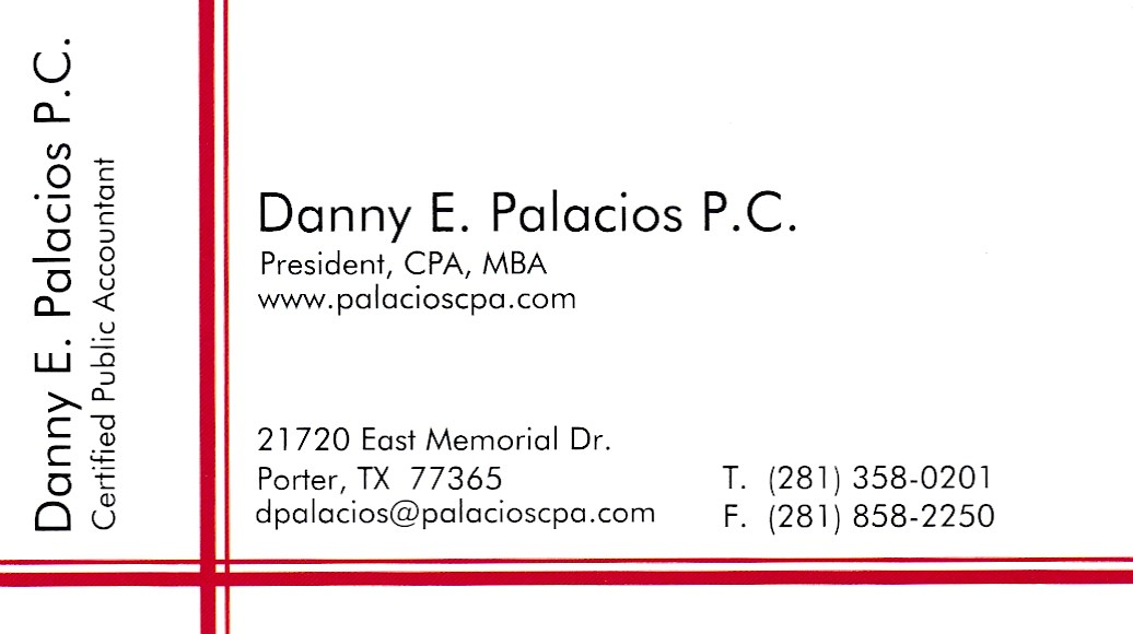 Danny E Palacios P. C.