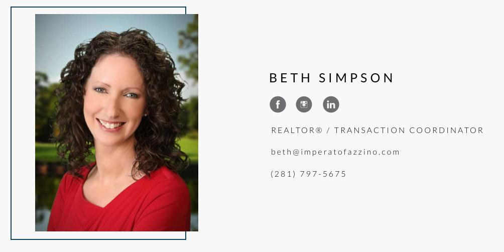 Beth Simpson, Imperato Fazzino Real Estate Agent
