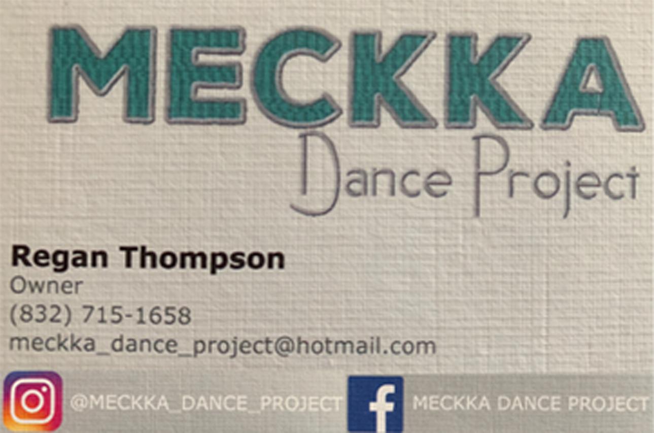 Regan Thompson, MECKKA Dance Project