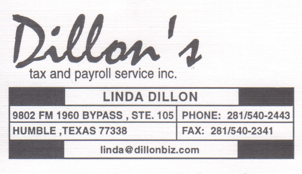 Dillon's Tax & Payroll Service