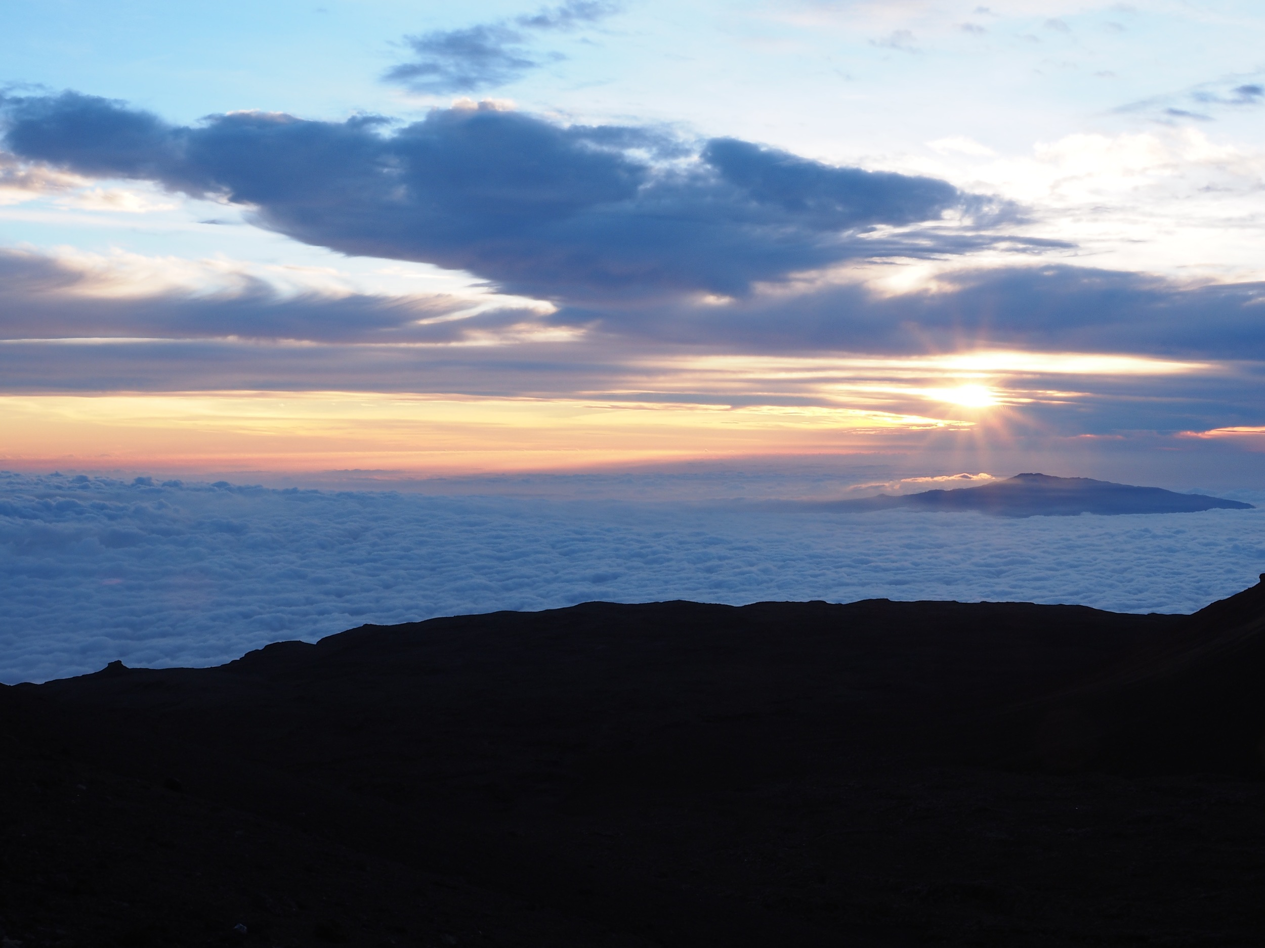 Summit of Mauna Kea, Big Island,Hawaii