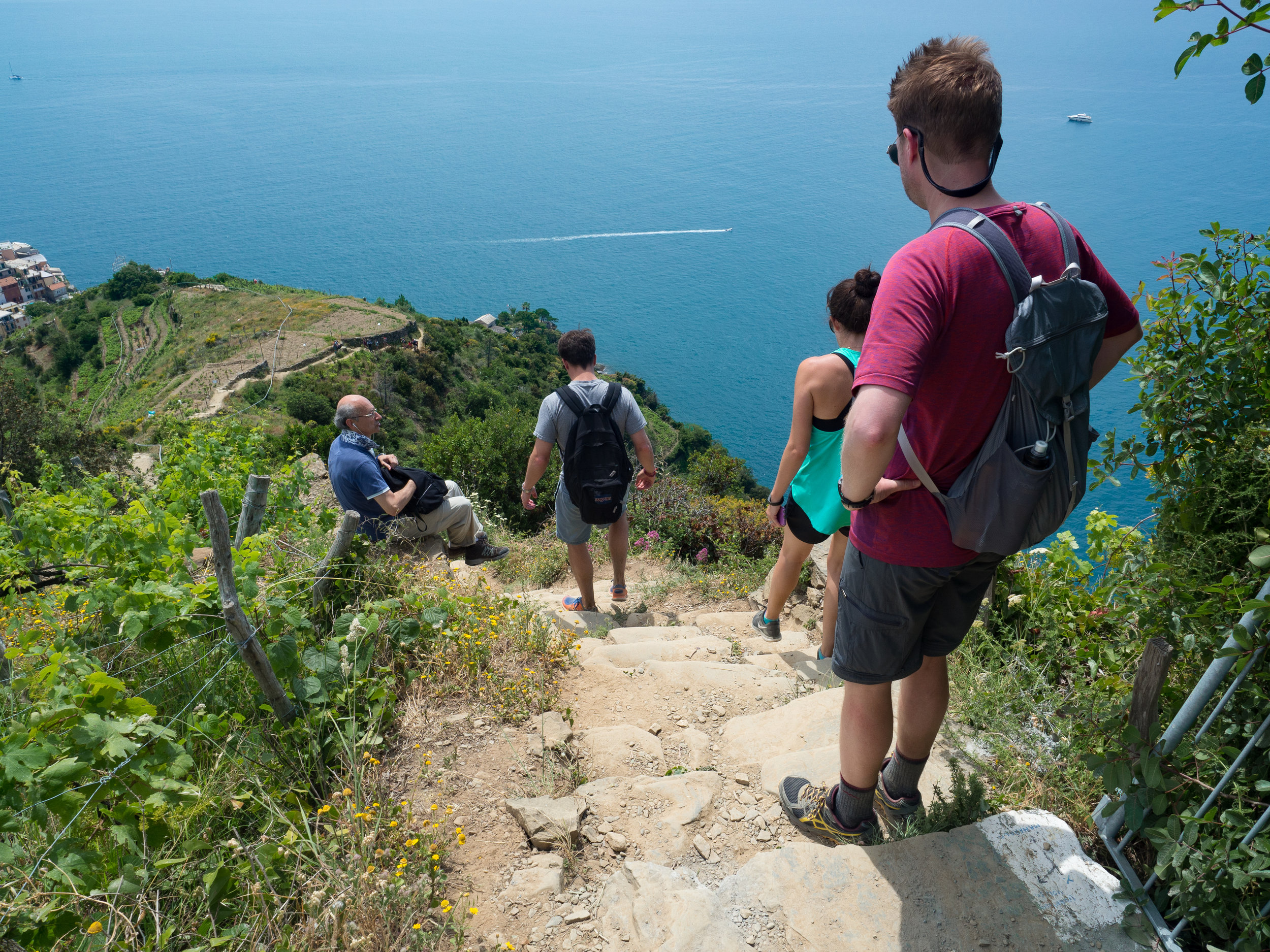 Good grip is essential for the steep steps and dusty trails of Cinque Terre!