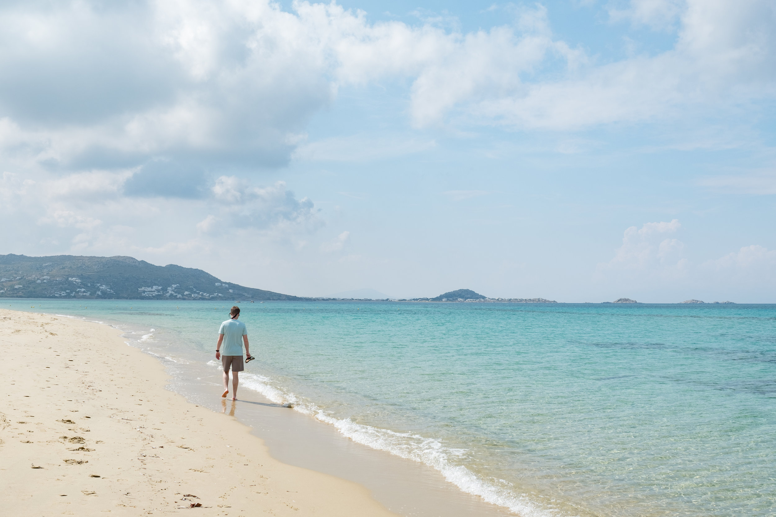 Maybe you long for a more  remote Greek Island ? Naxos