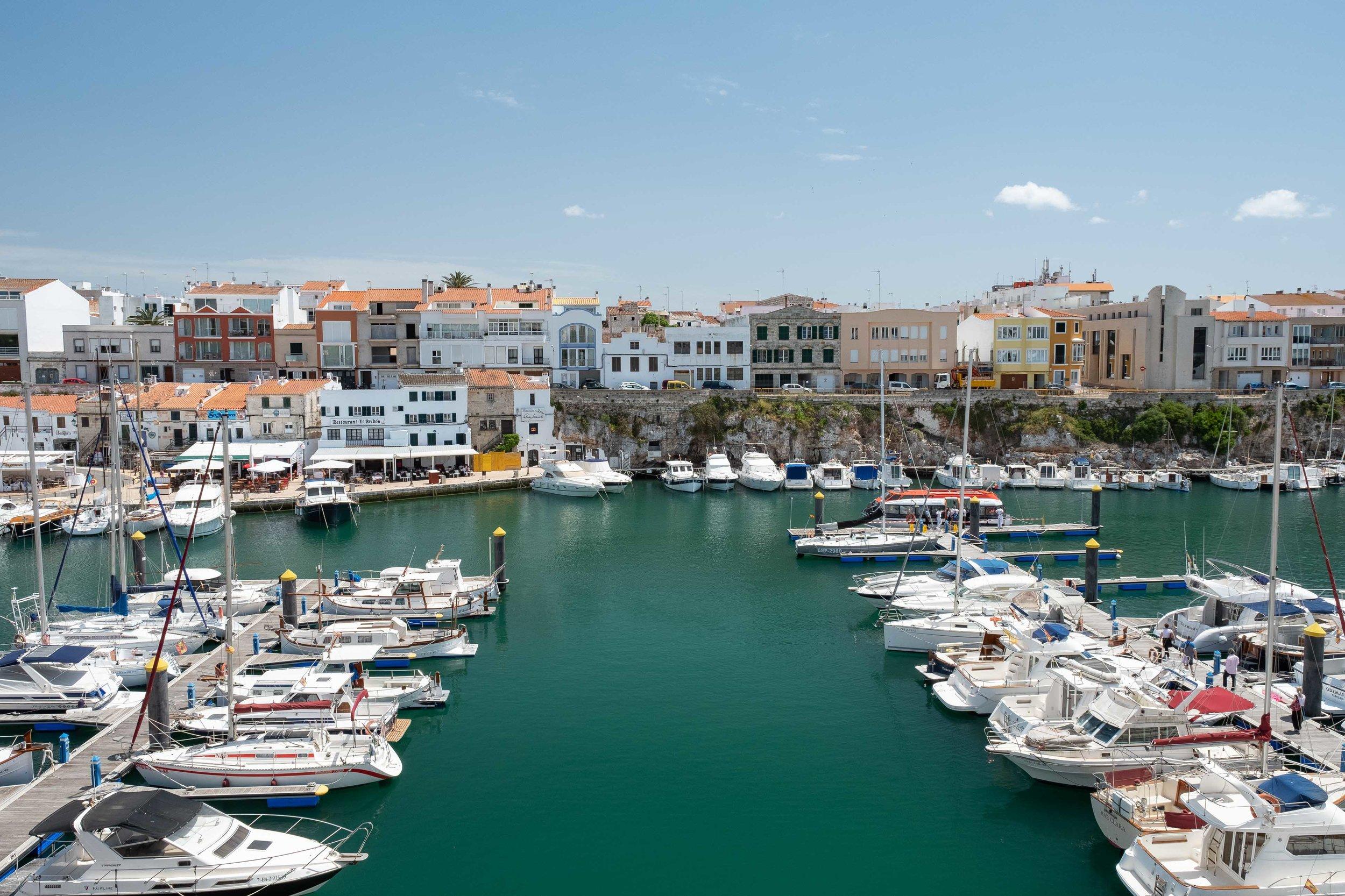 The Port of Ciutadella