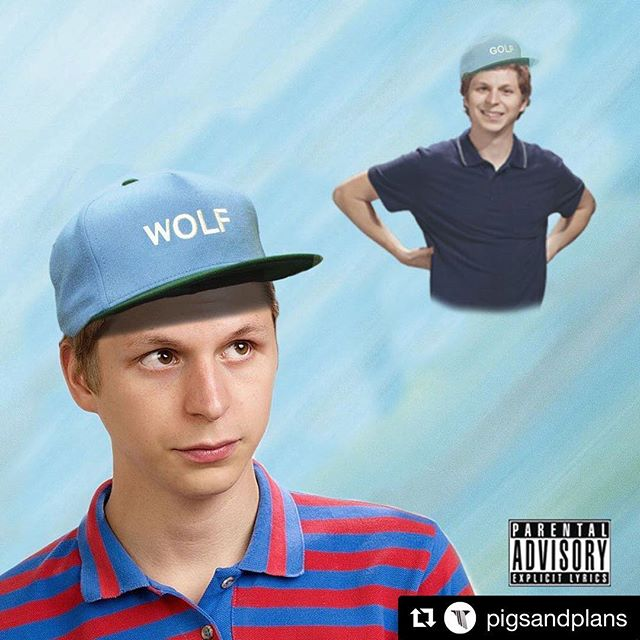 #Repost @pigsandplans ・・・ here's wolf but with michael cera