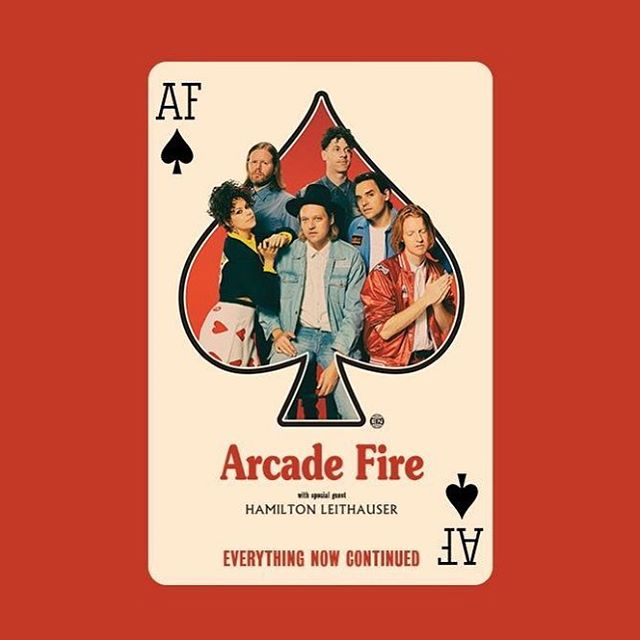 Would kill to catch @hamiltonleithauser with @arcadefire this summer ♠️