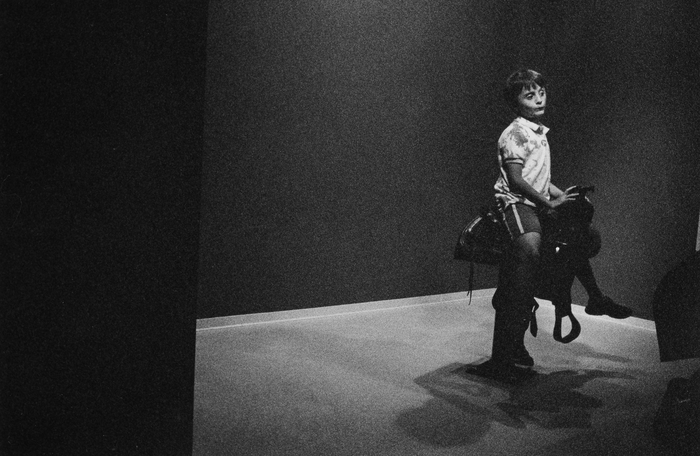 "Liza Hennessey Botkin -    ""Lone Rider"" - $750"