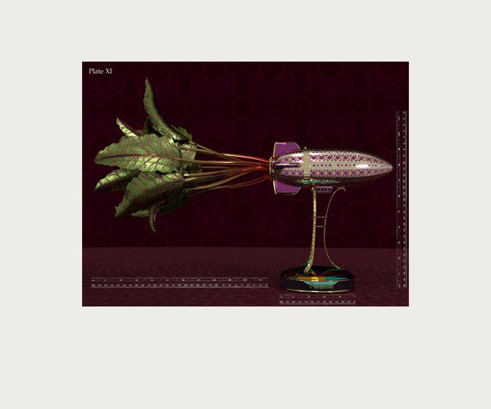 """Bill Rybak - """"Plate XI, Rodina Beet"""" - $175"""