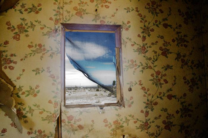 "Nicholas Fedak II-  ""Rear Window""   (16""x20"") -$2000"