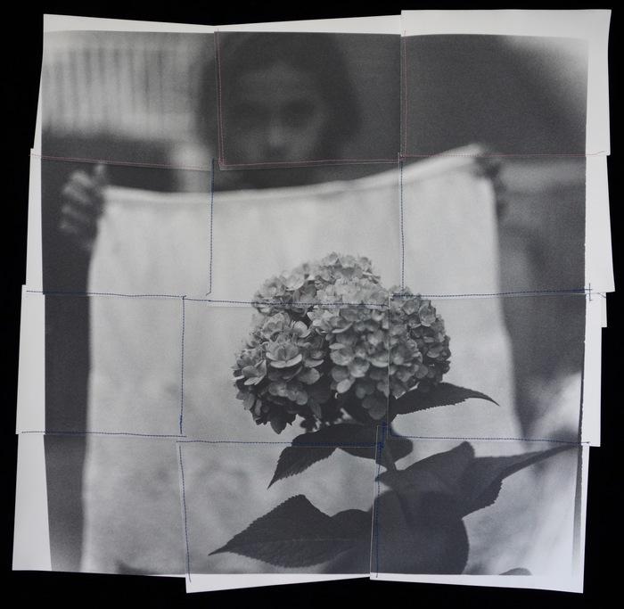 "Christa Leonard-  ""My daughter with hydranga 2015""  -$2500"