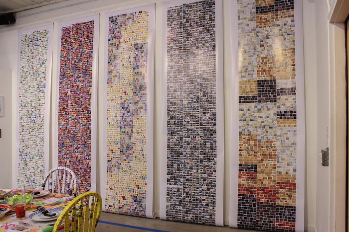 "Kristen Watson-  ""TMI Prints, part of Digital Immigrant project""- $780"