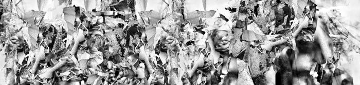 "Jim Pearson-  ""Landscape, Memory and Bone WKL""-  (8""x34"")  - $800"