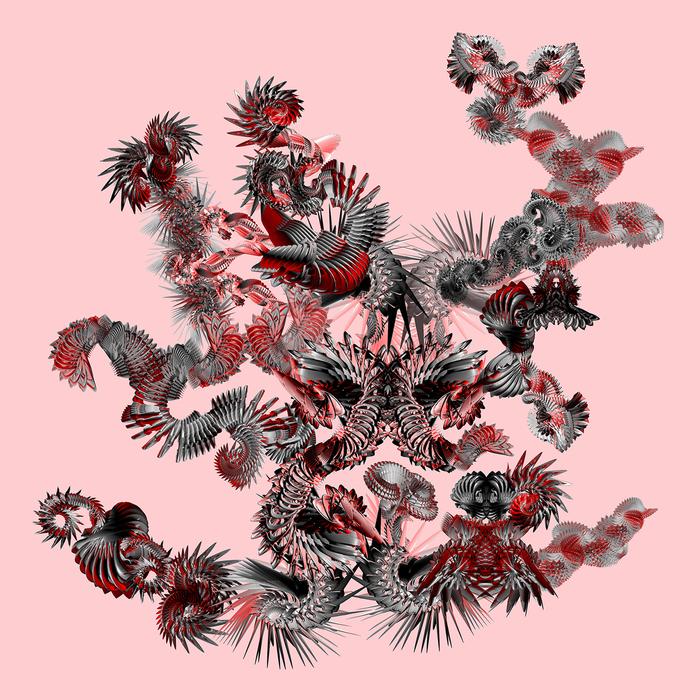 """Monica Tiulescu-  """"Species 0060""""-(12""""x12"""")- $195"""
