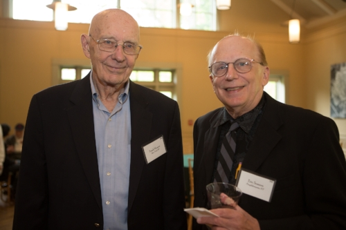 Frank Munzer (l), Eric Somers (r)