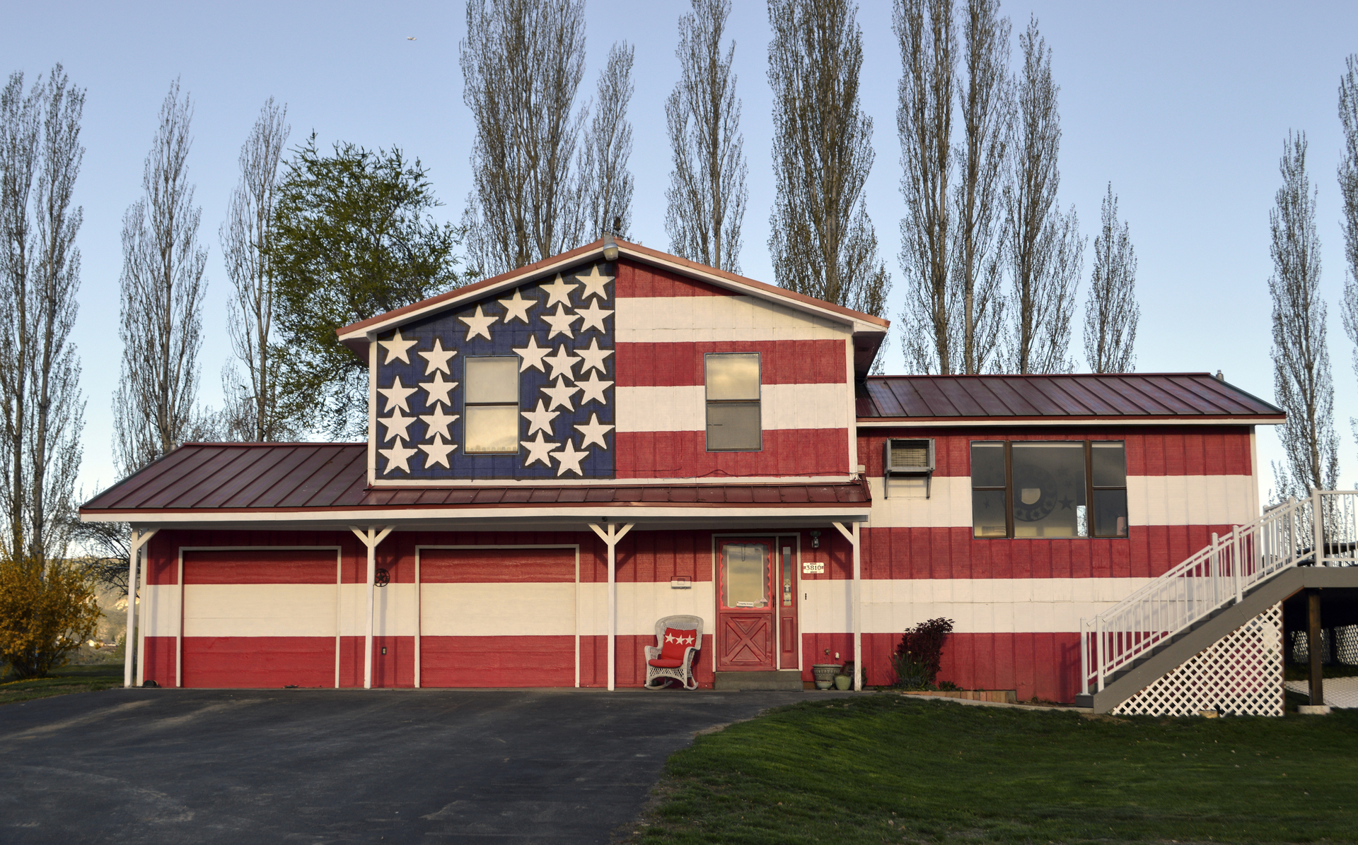 """Robert Carley -   """"Heartland House WA 2015""""   (22""""x30"""") -  $800"""