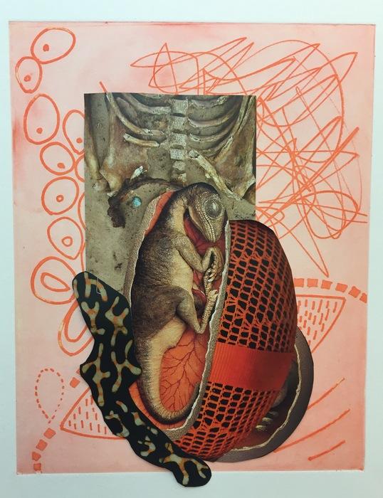 "Judy Gould   - "" Embryology ""   (16""x 20"") -  $375"