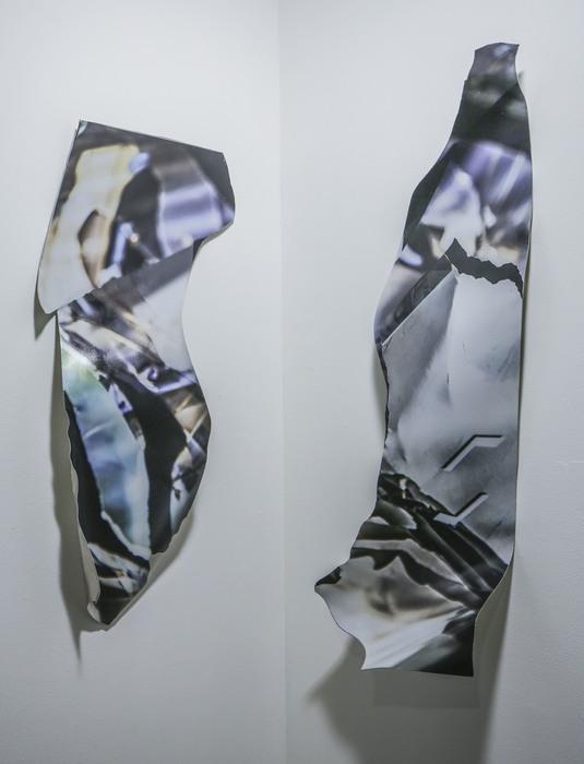 """Jason Isolini   - """" Untitled (Corner) """"     (36""""x 28"""") -  $700"""