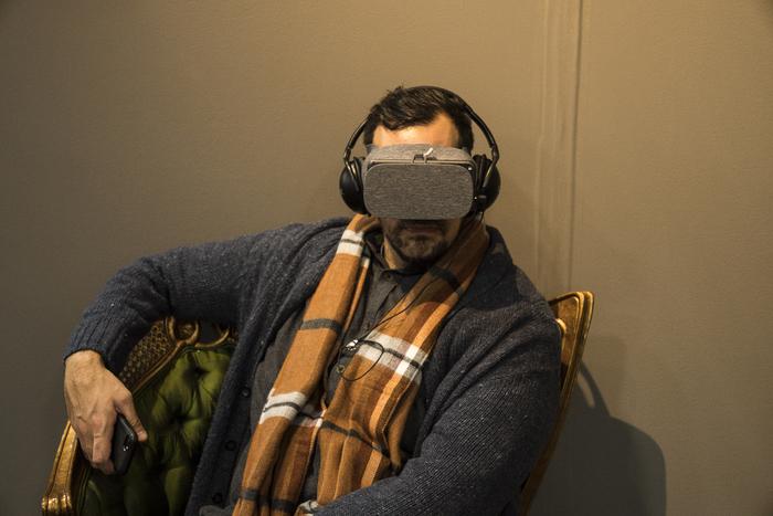 """Tad Philipp -  """"Virtual Reality""""  ( 23"""" x 29"""") -  $400"""