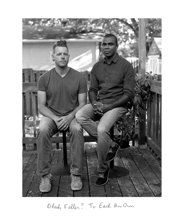 "Donna Pinckley -  ""Black Fella? To each his own.""  (20"" x 24"") -  $1225"