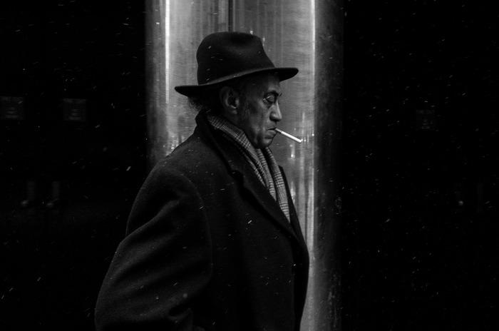 "Fernando Villela -  ""Untitled (Lexington Avenue)""  (""20 x 30"") -  $1000"
