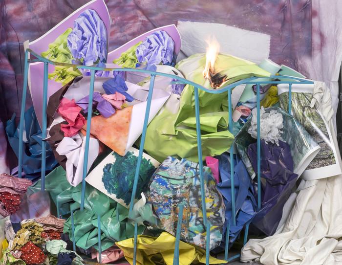 """Jake Platt -  """" The Marriage Problem""""  (35"""" x 27"""") -  $780"""
