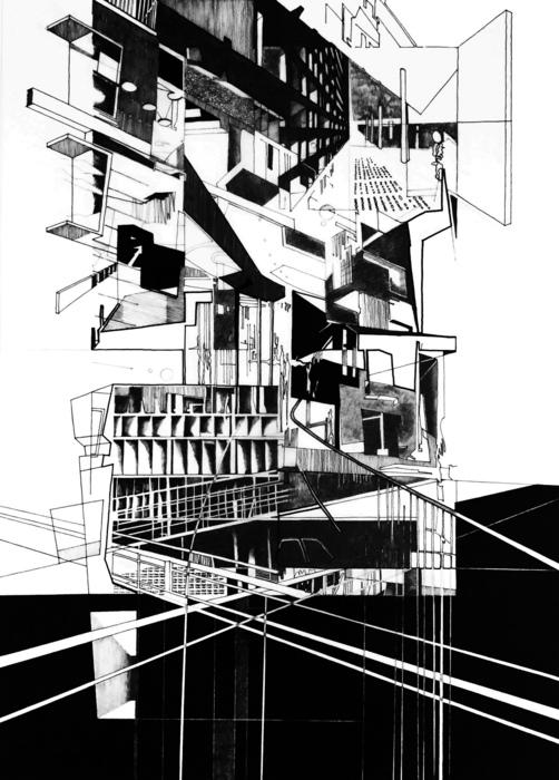 "Alejandro Borges -  ""Sublimation Series #24""  (24"" x 36"") -  $2400"