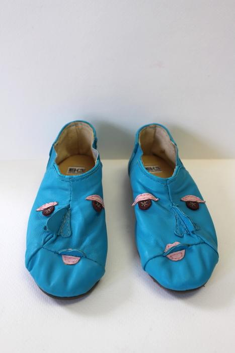 "Marah Carpenter  ""Face Shoes-Sisters Look 7""  (2.5""x5.5""x 8"") -  NFS"