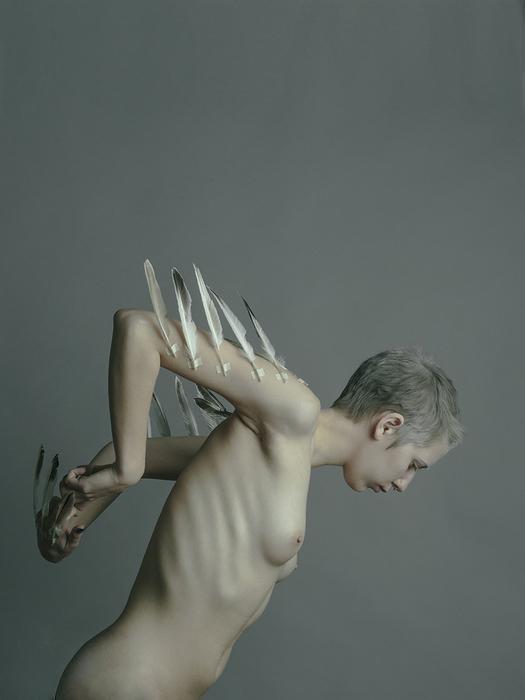 "Sarah Pezdek  ""Anthropomorphobia  "" (18"" x 24"")  $900"