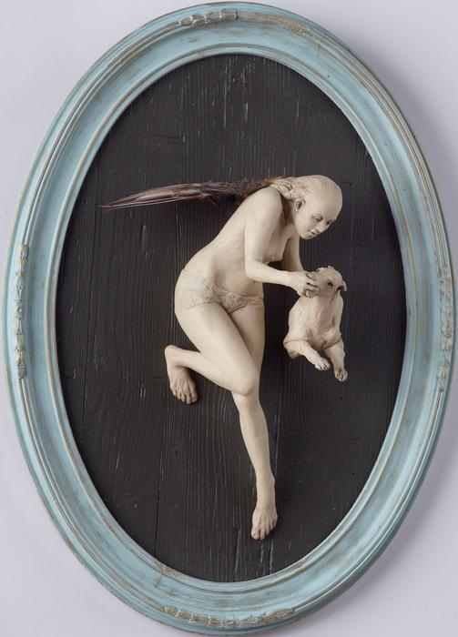 "Susannah Zucker - ""With Dog""  (24""x 17"") -  $4500"