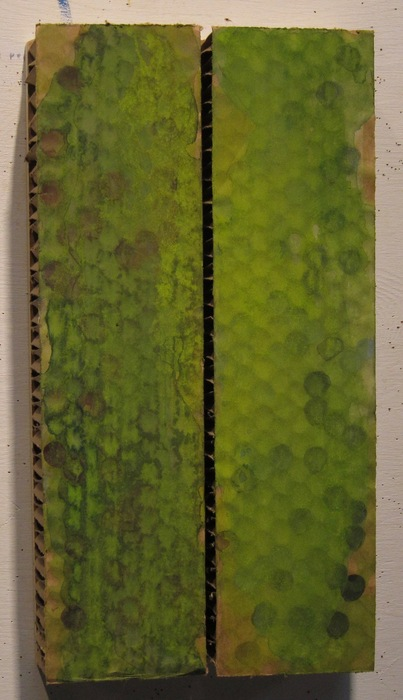 "Peter Joslin-  ""Water Seam"" (16"" x 8.5"" x 3.25"") -  $1200"
