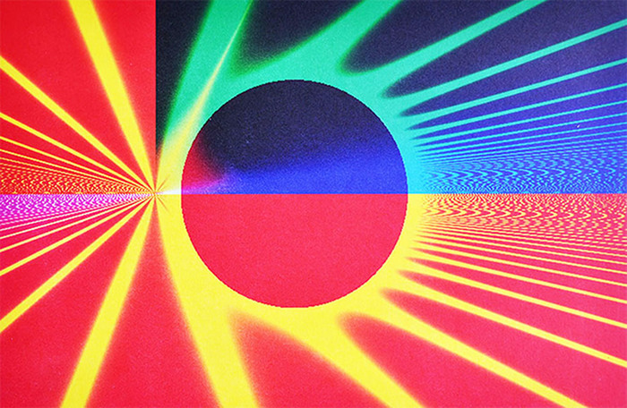 "Alan Singer-  ""Re-Entry""  (12"" x 18.5"") -  $850"