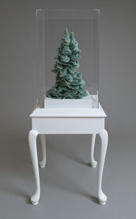 "Michelle Samour-  ""Eye Aggregation"" (62"" x 22"" x 22"") -  $6000"
