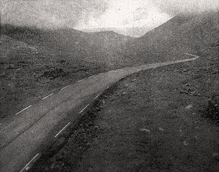 "Marcus DeSieno  ""48.2946856,-113.2414781""  (16"" x 20"") Archival Pigment Print of a Still from Surveillance Camera -  $1000"