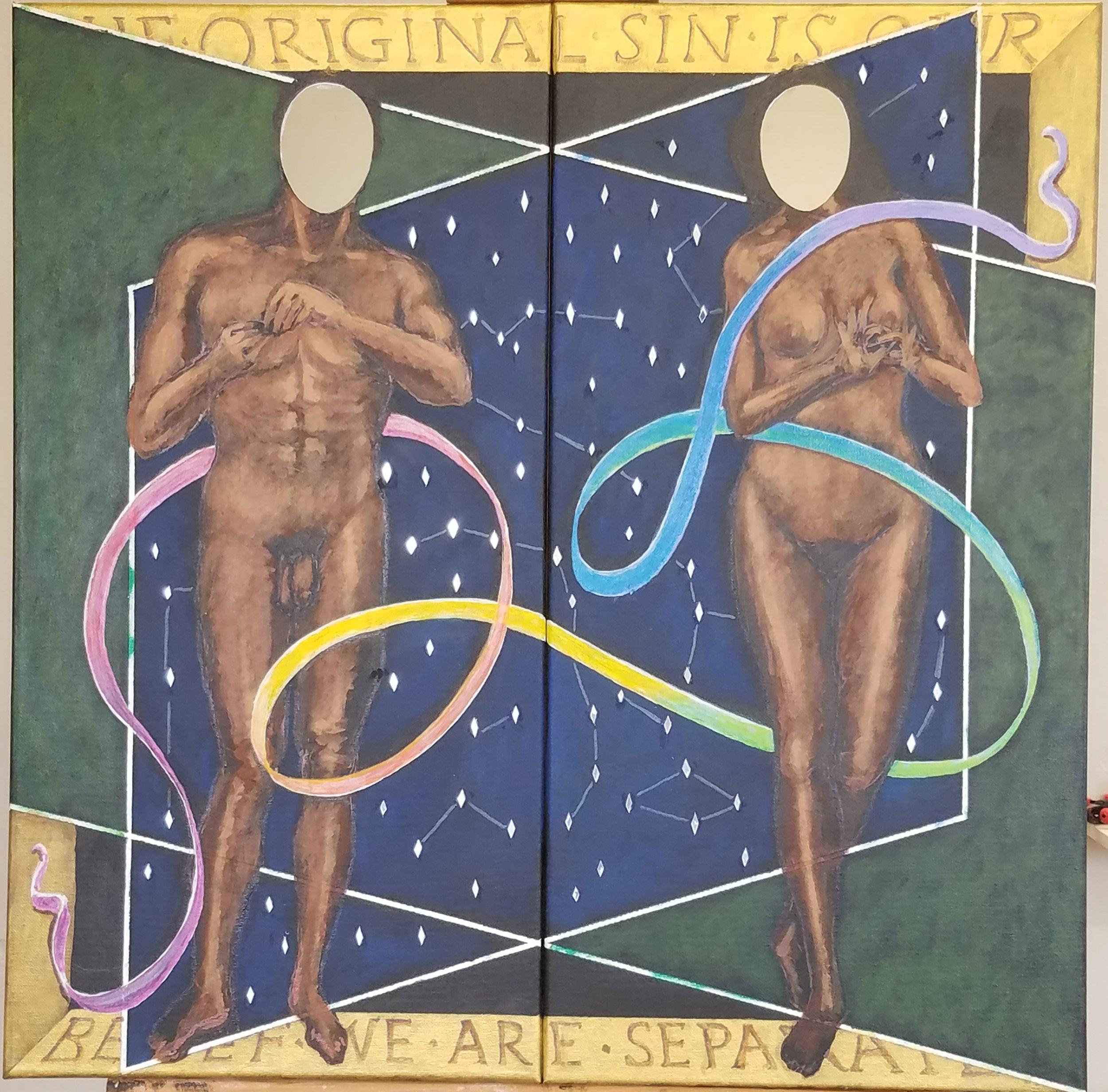 """Jim Bennett   """"Adam & Eve"""""""
