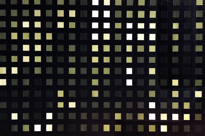 "Laurel Caryn -   Hookers Green II     -   Acrylic on Board (24"" x 36"")  $10   00"