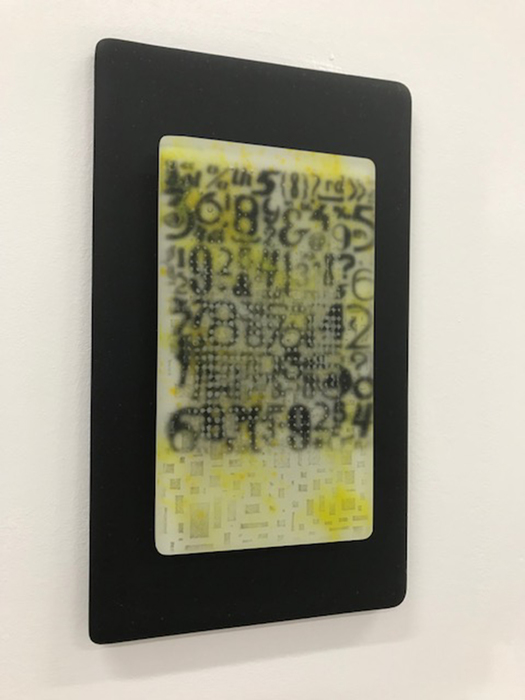 "Karen Murphy Too Much to Remember Fused Glass (12"" x 7"") $125 (Selected but not participating)"