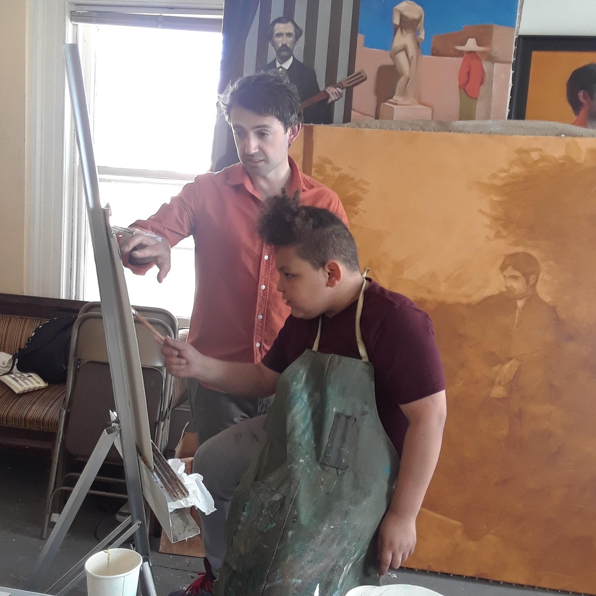 Studio time with Ben