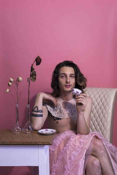 "Tanner Messer   It's Tea Time Boys   Digital Photography (19"" x 13"")  $675"