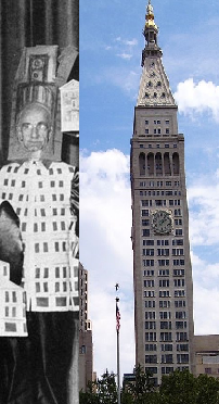 D.E. Ward as the Metropolitan Life Insurance Company Tower