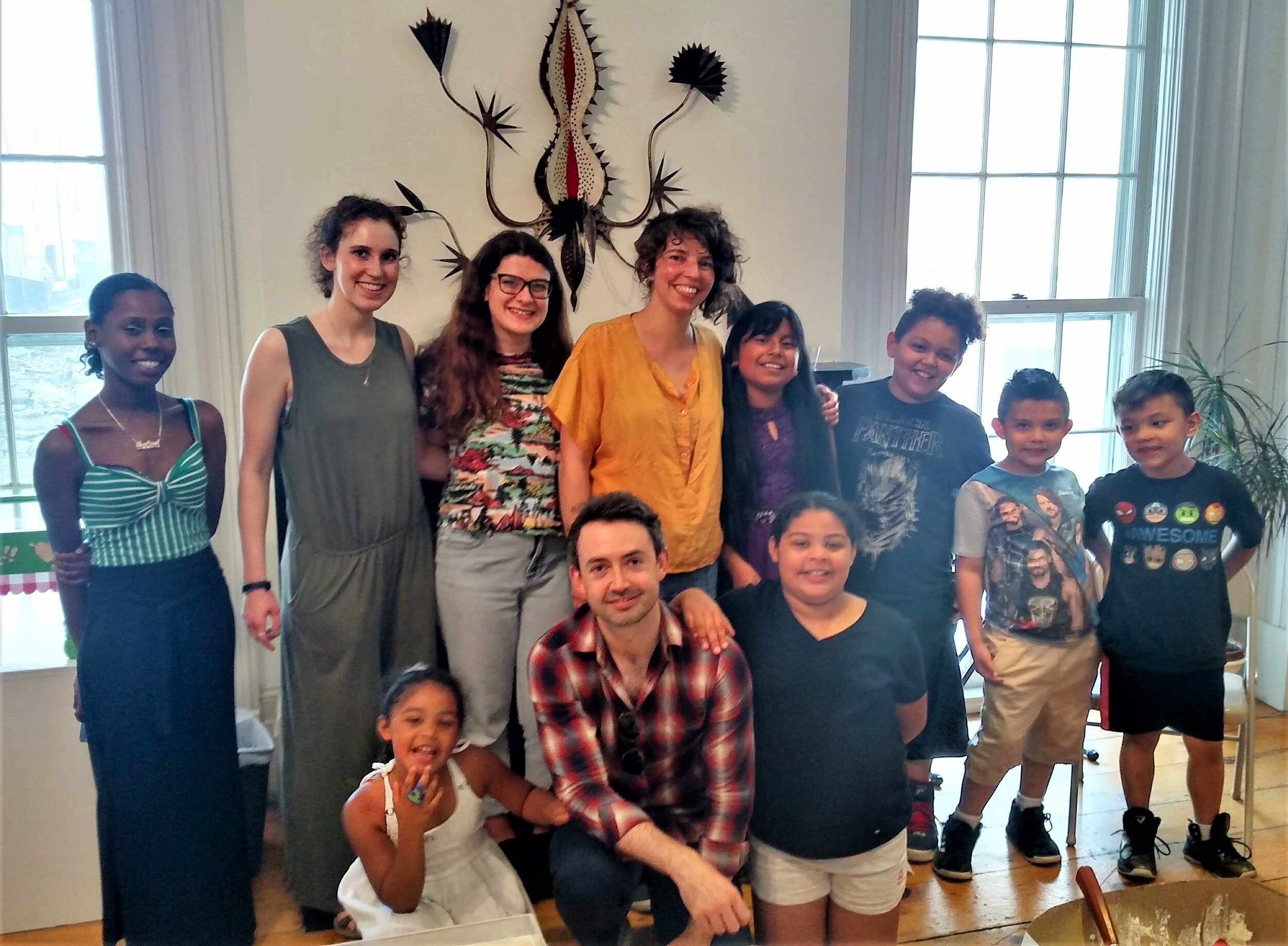 Barrett Kids, Interns, Staff & Artist in Residence , June 2019