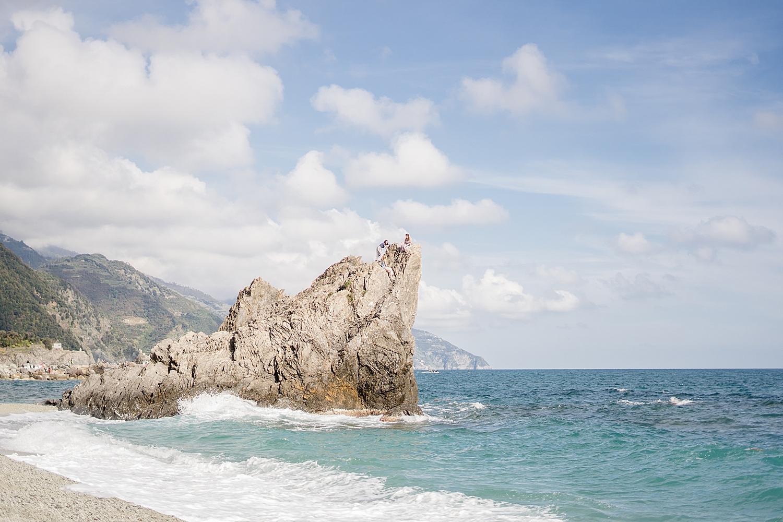 We found a big rock to hike…