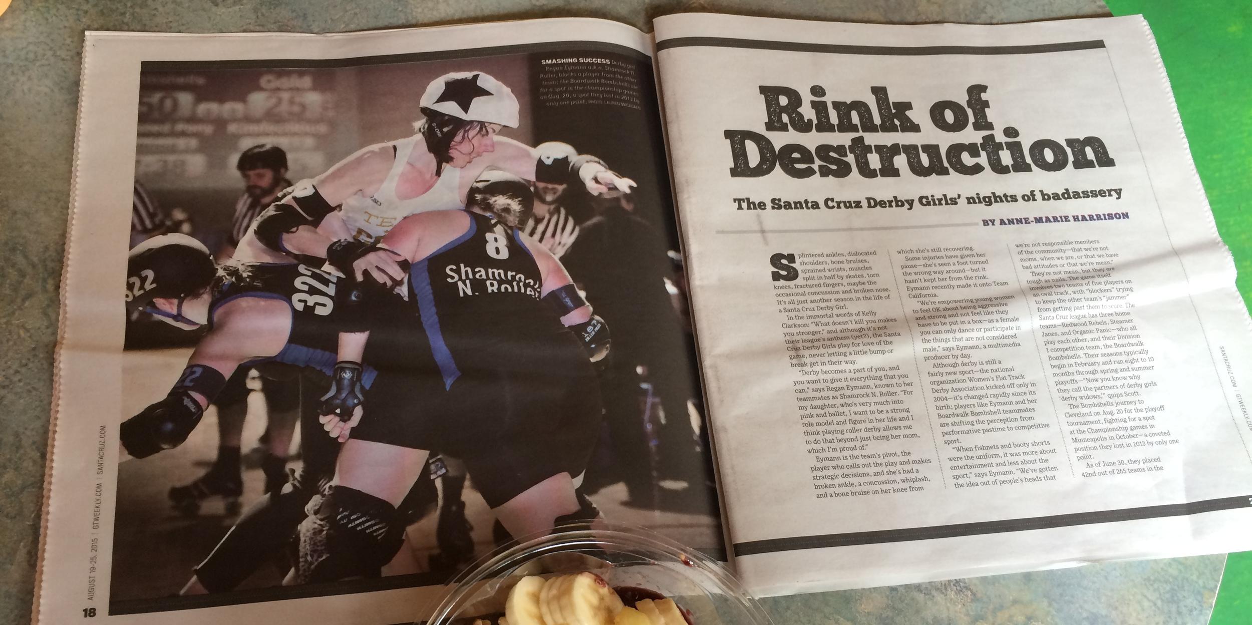 Santa Cruz Good Times: Rink of Destruction by Anne-Marie Harrison