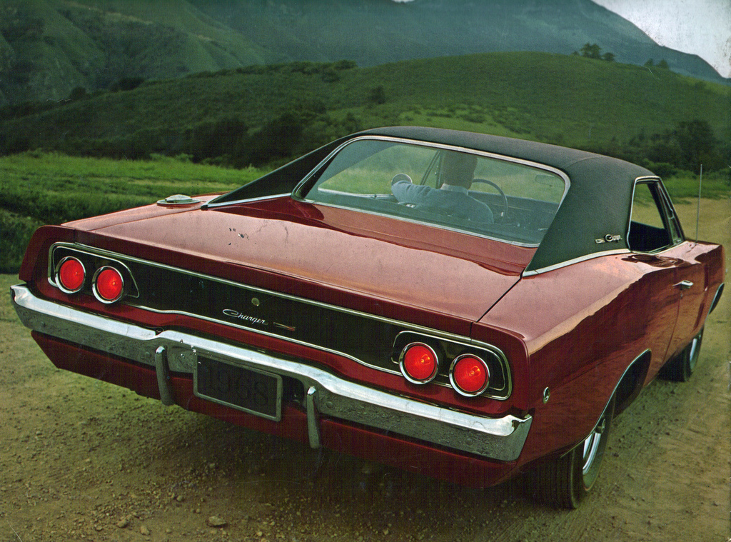Surely the meanest, sleekest 4 seater muscle car ever built - the 68 Charger