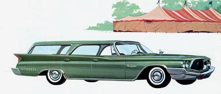 Chrysler New Yorker - massive in every way including cantilevered fins