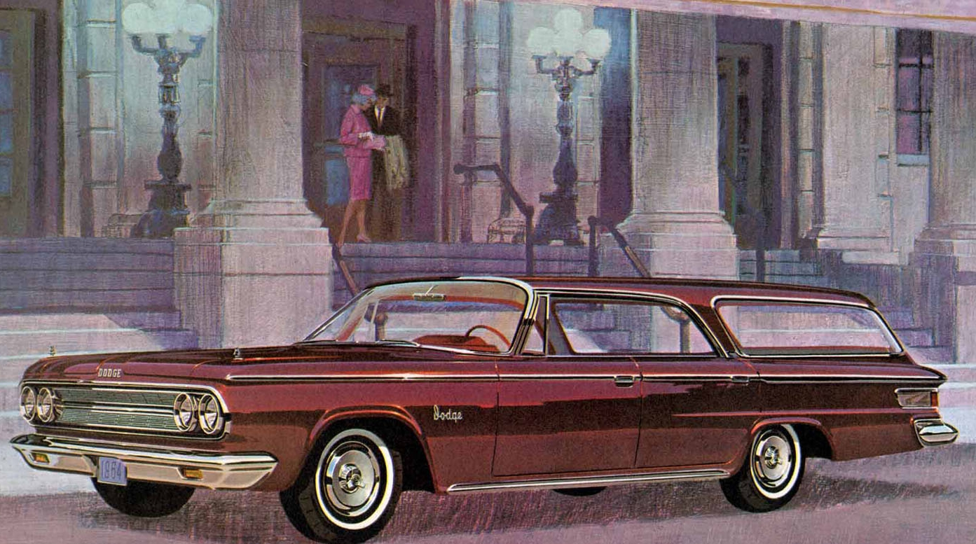 Last of the breed - the 1964 Dodge Custom 880 hardtop wagon